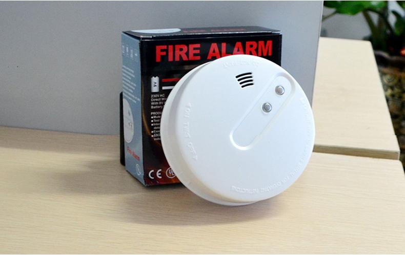 Best Price 220v Powered Smoke Alarm With Wireless