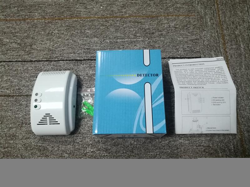 2019 Dc 12v Network Carbon Monoxide Detector With Solenoid